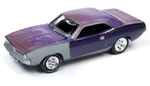 UU. A.s.s nuevo Johnny Lightning 1//64 Plymouth Cuda 1970 Barn finds muscle cars EE
