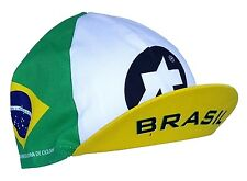 Cycling Cap ASSOS Brazil Brasil Made In Italy Lightweight Summer
