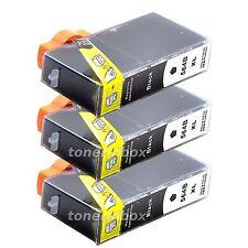 3pk Generic Ink Cartridge For Hp 564xl Black Photosmart 7510 7520 5510 5520 6510
