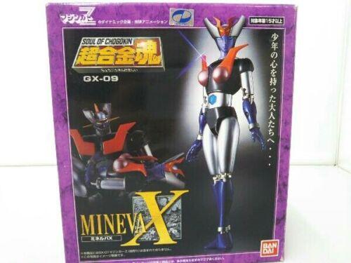 BANDAI Soul of Chogokin GX-09 MINERVA X Mazinger Z Action Figure USED GOOD