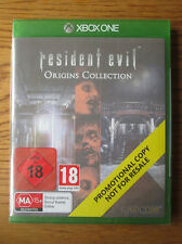 Resident Evil Origins Collection PROMO – Xbox One  NEW SEALED (Promotional Copy)