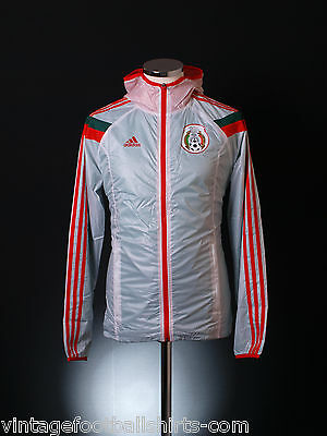 2014-15 Mexico Adidas Anthem Football Track Hooded Jacket *BNIB* S-M-L-XL-2XL