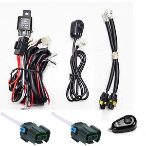 chevy silverado fog light wiring harness kit 2007 2014 2500 2500hd 3500hd