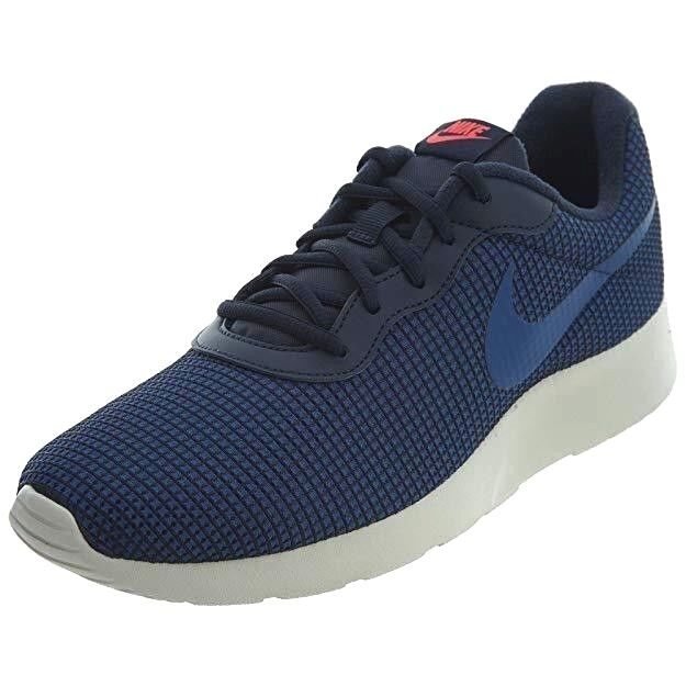 check out 81aa8 af0ba Nike Tanjun SE Mens 844887-403 Obsidian Gym Blue Mesh Running Shoes Size 12  for sale online   eBay