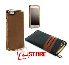 Element Case Ronin Ultra Luxe Cover iPhone 6S / 6 Gold Leather EMT-0155 Original