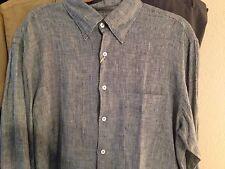 Canali men's linen shirt