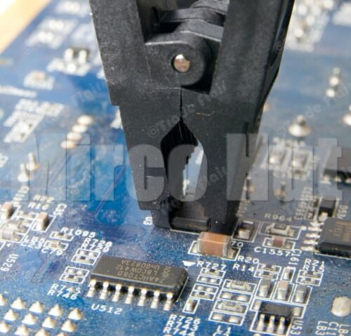 Adapters for Programming SOIC8 SOP8 BIOS//24//25//93 Flash Chip IC Test Clip