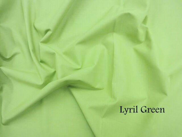 LAWN COTTON -PLAIN COLORS Fabric from India Material for sewing craft Colour