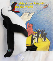 Whiteblack The Penguin Sees The World - 9.25 Inch Plush Toy And Book,
