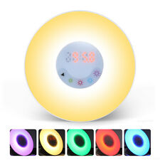 Wake-Up Sunrise Simulation Alarm Clock Night Light with FM Radio Sounds