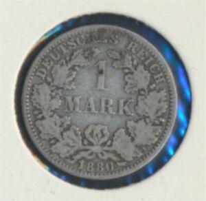 German-Empire-Jagerno-9-1880-A-very-fine-Silver-1880-1-Mark-7849283