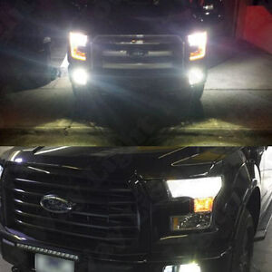 2015 2016 f150 6000k white cree led low beam headlight lights bulbs dust cover ebay. Black Bedroom Furniture Sets. Home Design Ideas