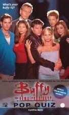 Buffy the Vampire Slayer - Pop Quiz - Pocket Books Paperback 1st PRINT 1999