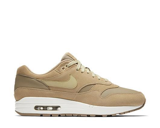 Men's Nike Air Max 1 Premium AH9902-2018 Leather Khaki Suede Price reduction The most popular shoes for men and women