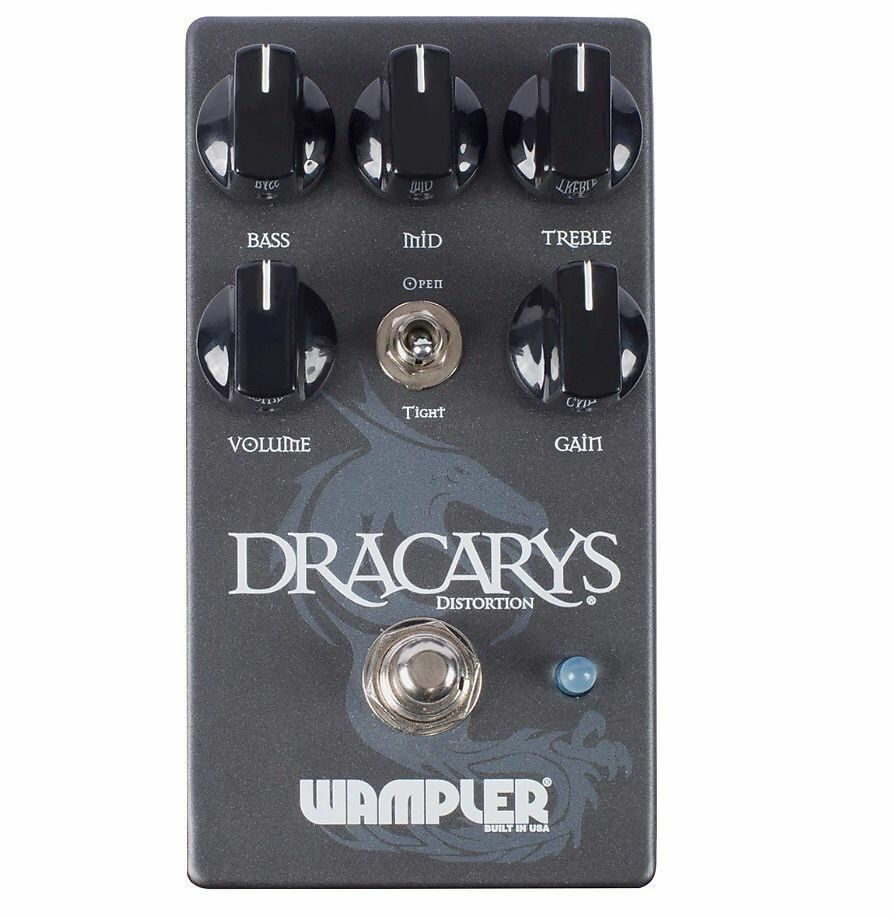 Wampler Dracarys High Gain Distortion Pedal - New -Make Offer -Killer Stomp Box