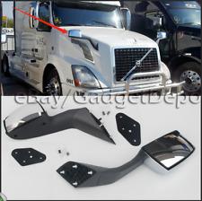 Pair For Volvo Vnl Truck Hood Mirror Set Rhlh Mounting Kit 82361058 82361059 Fits Volvo