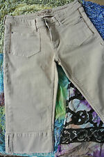 Tom Tailor * Caprihose * Haselnuss Hazel * Robuster Denim Stoff * Gr 38