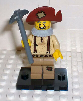 Fedora Cowboy GENUINE Minifigure 45023 Mini Figure NEW LEGO Gold Prospector