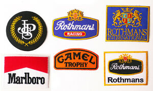 TOBACCO-SPORT-SPONSORS-Embroidered-Patch-Series-Low-Price-UK-Stock-Free-Post