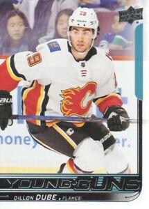 2018-19-Upper-Deck-Hockey-207-Dillon-Dube-YG-RC-Calgary-Flames