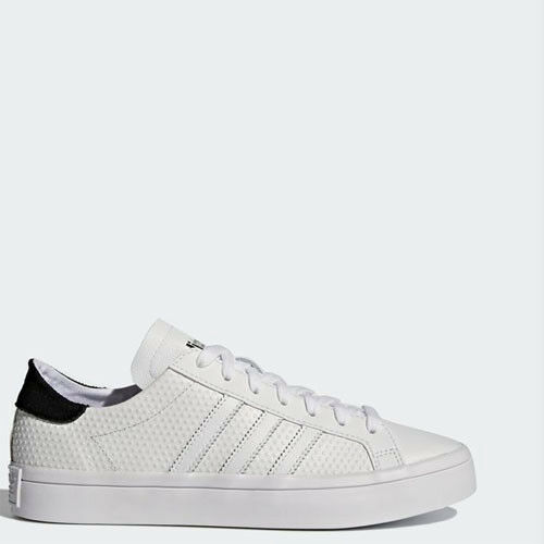 Adidas BY9235 Men Court vantage running shoes white black sneakers