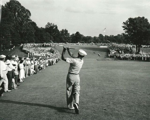 Frameable Ben Hogan One Iron  Merion US Open Golf  PGA picture poster