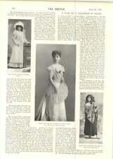 1899 Miss Pattie Browne Mr Jc Williamson Blanche Lawson Isabel Sefton