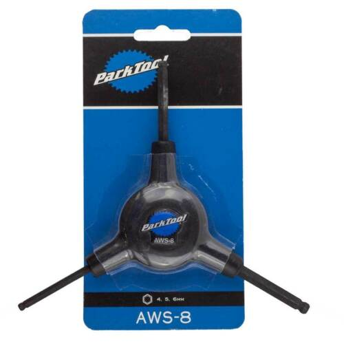 Park Tool AWS-8 3 Way Balldriver Hex Wrench 4//5//6mm