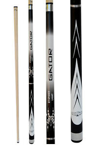 Champion-White-Spider-Pool-Cue-Stick-3-8X10-Joint-Cuetec-Billiards-Glove