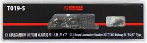 Rokuhan T019-5 Z Echelle Locomotive Vapeur Type C11 Nombre 207 Tobu Sl ' Taiju