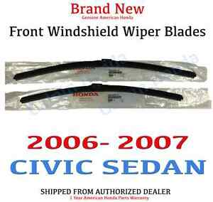 2007 honda civic windshield wipers