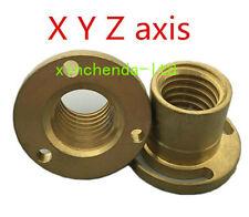 Bridgeport Milling Machine X Y Z Axis Screw Copper Brass Sleeve Cnc Mill Tools