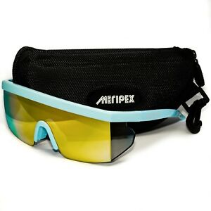 162cdb5dc4 Image is loading Meripex-Apparel-Unisex-Sport-Retro-Mirrored-Sunglasses -Cheaper-