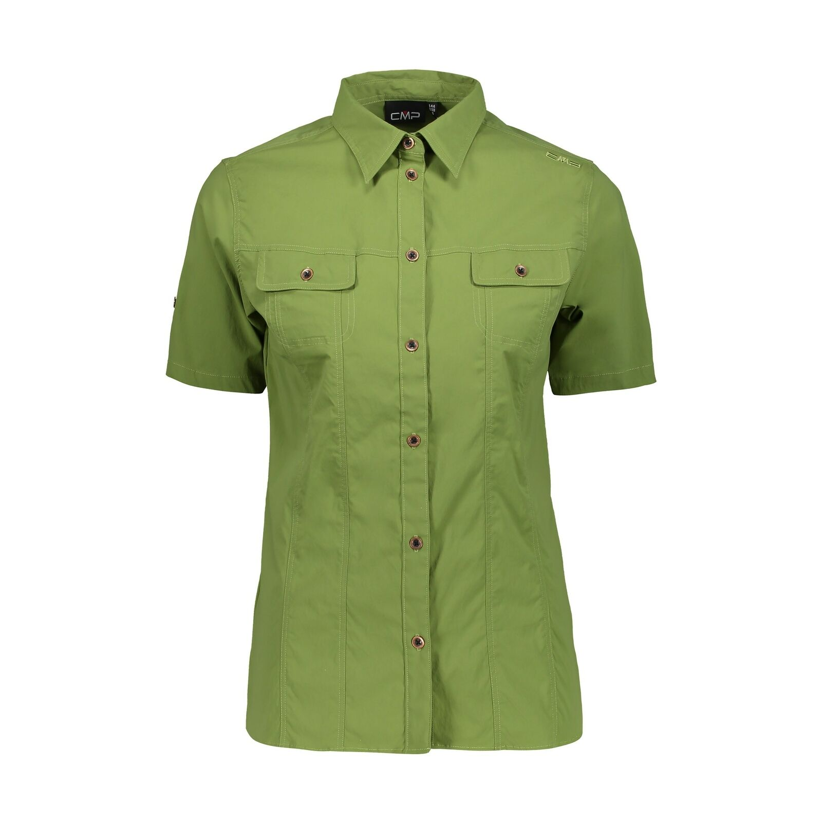 CMP Outdoor Blouse Blouse Woman Shirt Green Breathable Elastic uv  Predection  novelty items