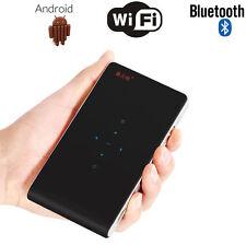 Mini Pocket Pico Projector Mobile Wire Wireless Wifi HD DLP LED 1080P Black