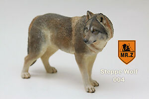 Mr. Z 1/6 004 Set Steppe Wolf Animal 20 cm lenght,In stock