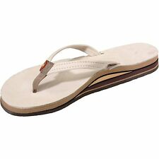09795d4b86f item 5 WOMEN S RAINBOW SANDALS PREMIER LEATHER DOUBLE STACK NARROW STRAP  Sand Sz 11 NEW -WOMEN S RAINBOW SANDALS PREMIER LEATHER DOUBLE STACK NARROW  STRAP ...