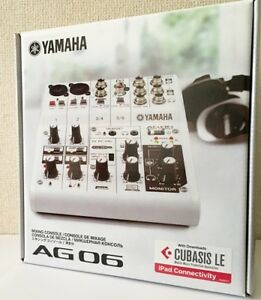 NEW-YAMAHA-AG06-6-Channel-Web-Casting-Mixer-2-Channel-USB-Audio-Interface-JAPAN