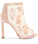 thumbnail 2 - NEW Jessica Sympson Womens Pedell Shootie Heels Size 9 Sheer Nude Blush Mesh $99