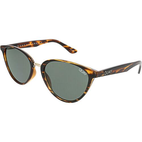 Quay Women/'s Rumours QW-000222-TORT//GRN Brown Cat Eye Sunglasses