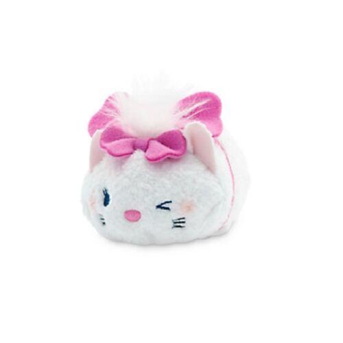 "MARIE~Authentic~tsum tsum~mini 3 1//2/""~ARISTO~WINK~Kitten~PLUSH~NWT~Disney Store"
