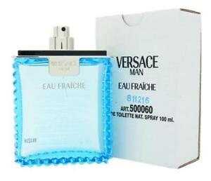 Versace-Eau-Fraiche-Men-3-4-OZ-100-ML-Eau-De-Toilette-Spray-New-Tst-Bottle