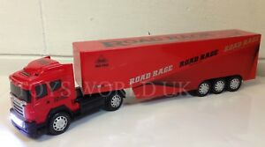 Large european lorry truck 51cml remote control car led lights