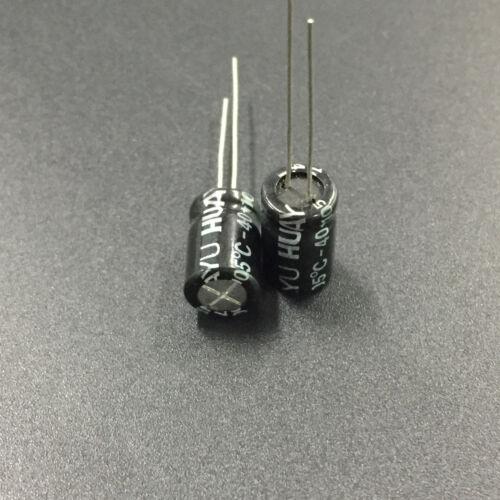 10pcs 100V 4.7uF 100V HUAYU NP 8x11.5mm Non polar Electrolytic Capacitor