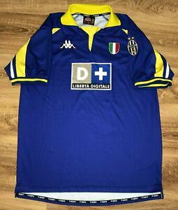 buy popular d0208 c1d58 Details about Juventus 1998 - 1999 rare vintage third Kappa shirt size XXL