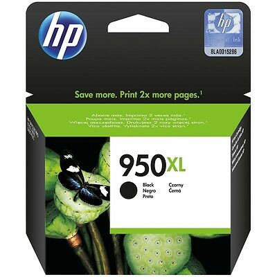 Genuine HP 950XL High Capacity Black ink Cartridge (CN045AE) VAT included