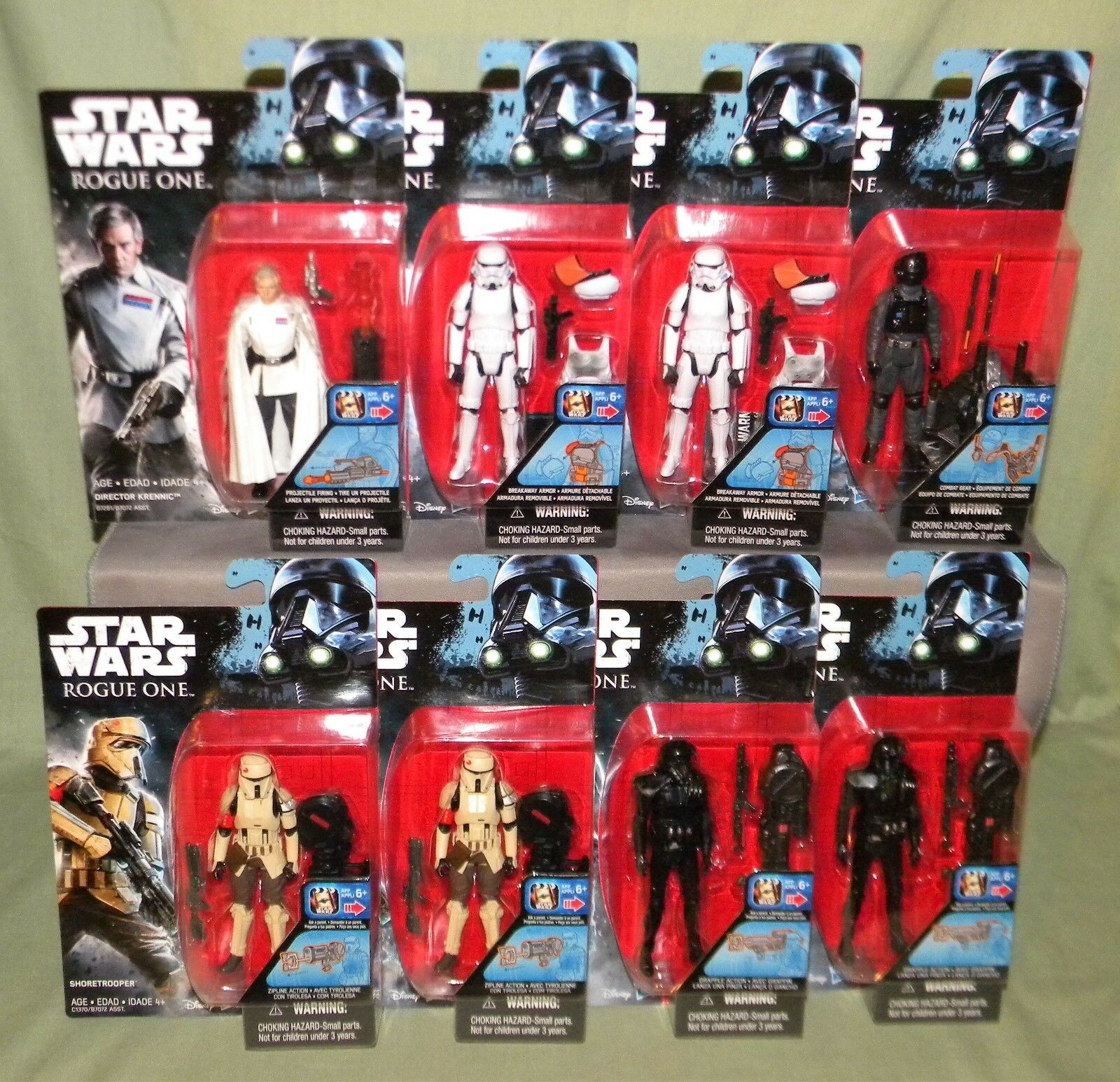 IMPERIAL ARMY Stormtrooper Krennic Ground Death Shore Rogue One 3.75  Figure