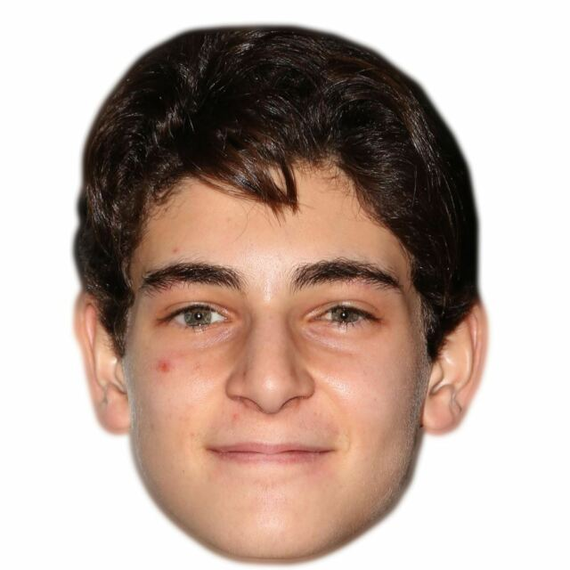 David Mazouz Celebrity Mask, Card Face and Fancy Dress Mask
