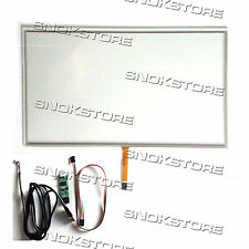 15.6 inch 4 WIRE RESISTIVE TOUCH PANEL + USB PORT CONTROLLER BOARD KIT DIGITIZER