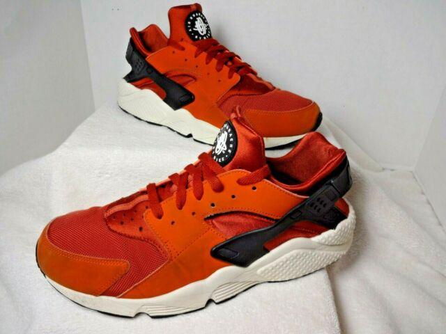 Size 13 - Nike Air Huarache Firewood Orange